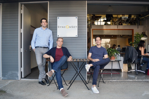 From left to right, Co-Founders Brett Beaulieu-Jones, Jeffrey Impey, and Alexander LoVerde