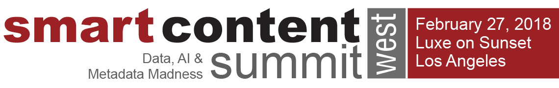 Smart Content Summit West 2018