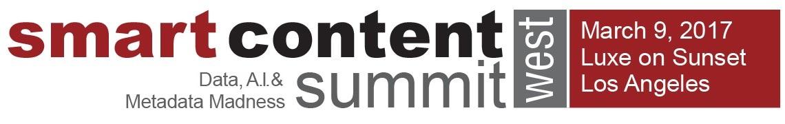 Smart Content Summit West 2017