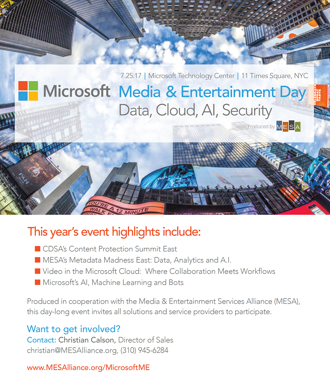 Microsoft Media Day
