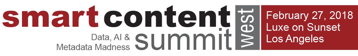 Smart Content Summit West 2018