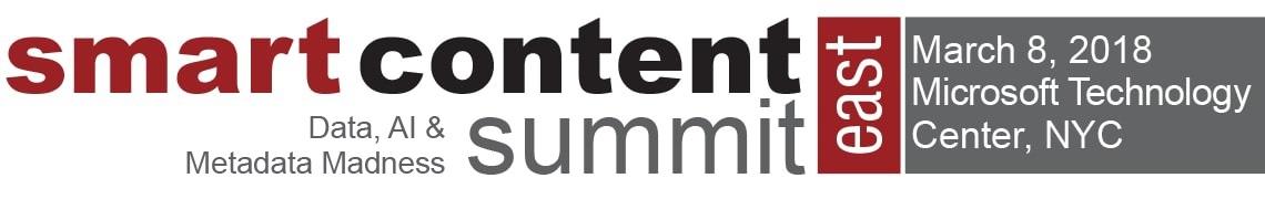 Smart Content Summit East 2018