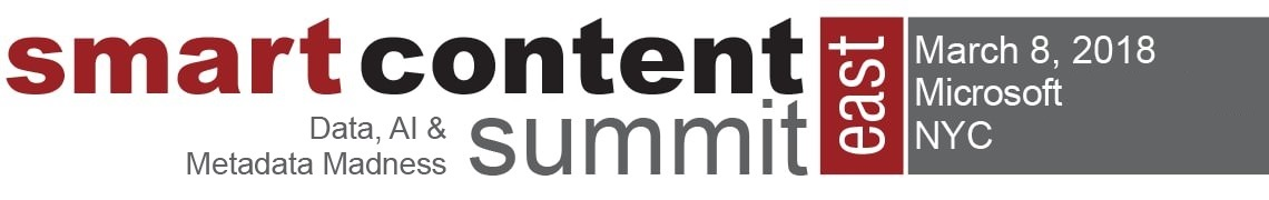 Smart Content Summit East 2018
