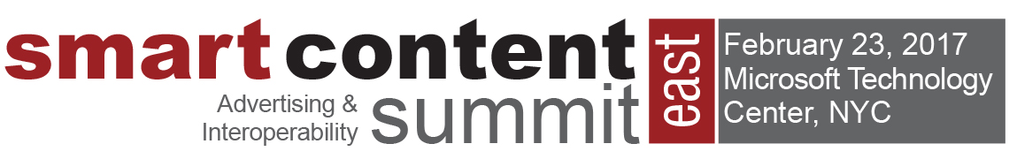 Smart Content Summit East 2017