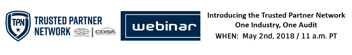 Webinar: Introducing the Trusted Partner Network: One Industry, One Audit
