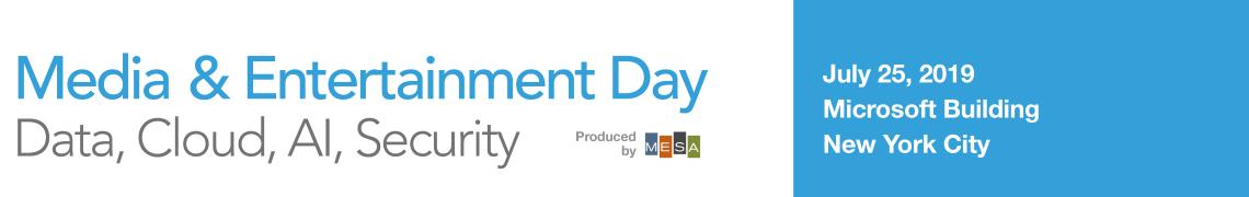 Media & Entertainment Day 2019