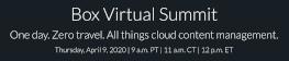 Box Virtual Summit