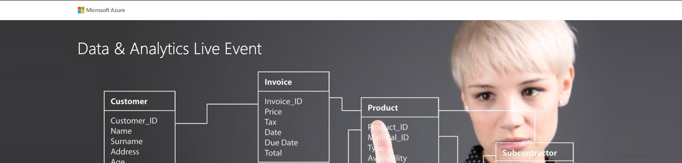 Microsoft Azure Data & Analytics Live Event