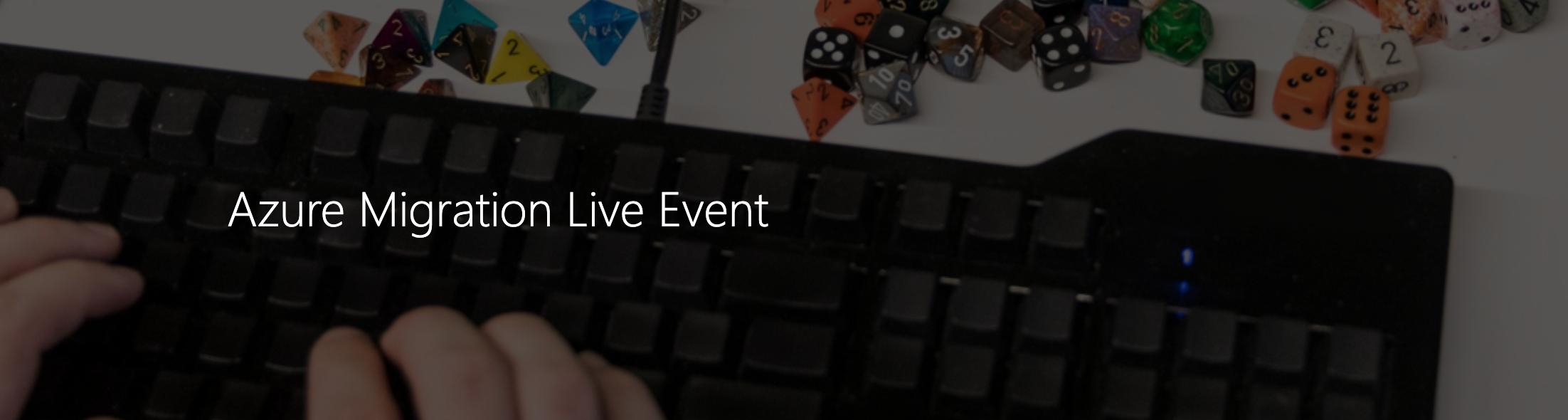 Microsoft Azure Migration Live Event