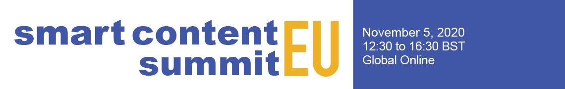 Smart Content Summit Europe 2020
