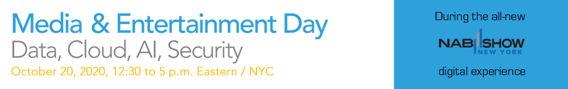 Media & Entertainment Day 2020