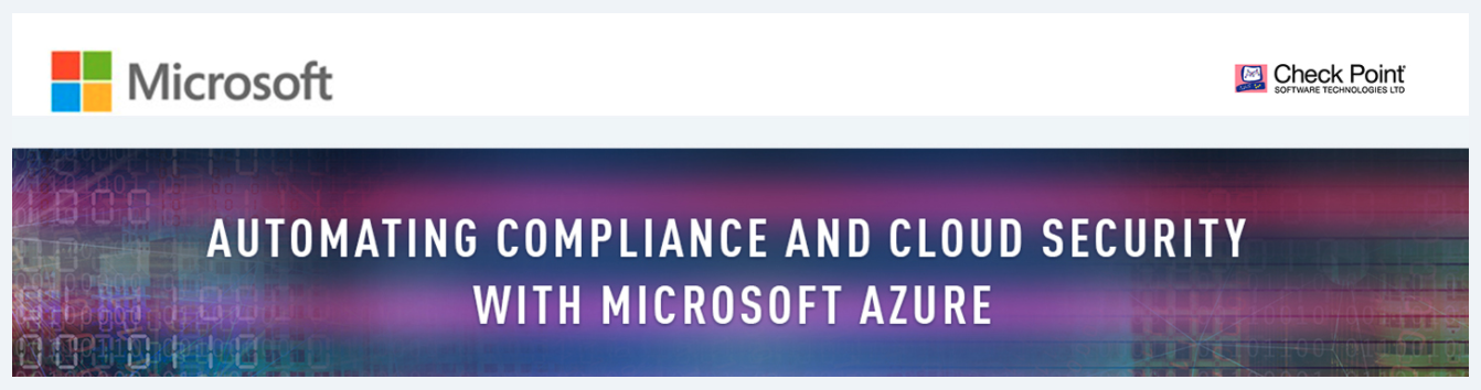 Microsoft Webinar: Automating Compliance and Cloud Security with Microsoft Azure
