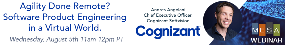 Cognizant Webinar: Agility Done Remote? Software Product Engineering in a Virtual World