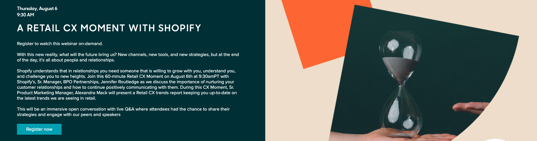 Zendesk Webinar: A Retail CX Moment with Shopify