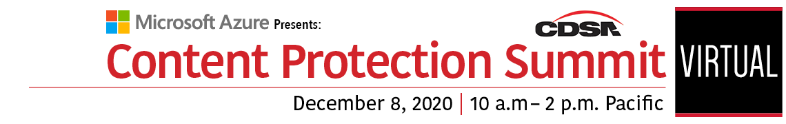 Content Protection Summit 2020